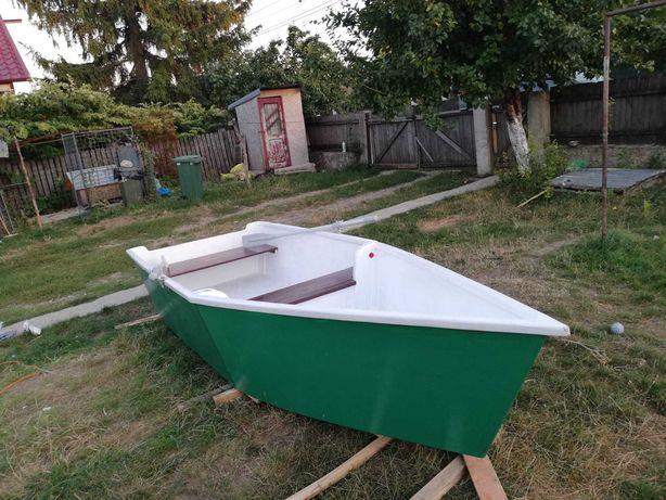 Barcă lemn,fibră de sticlă și rășină epoxidică
