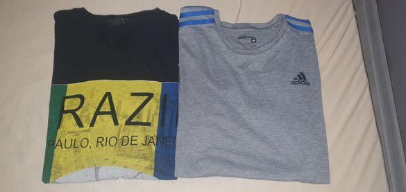 2 маркови тениски М размер