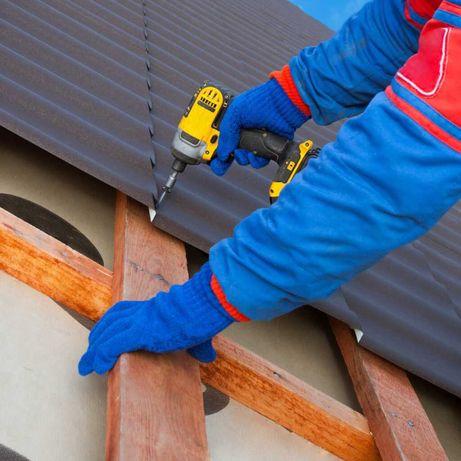 Montaj tigla metalica, reparatii acoperisuri de orice tip