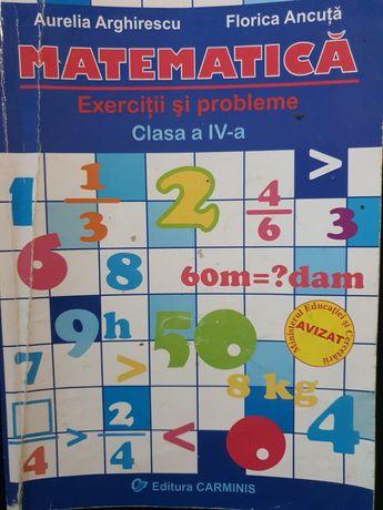 Carti matematica clasa a 4 a, a 5 a