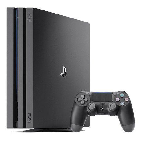 PS4 pro 1 tb + 2 джойстика