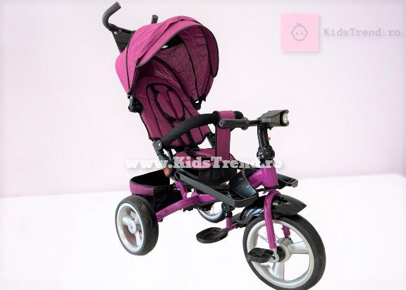 Tricicleta Copii, Nou, Factura, Pozitie somn, Scaun rotativ