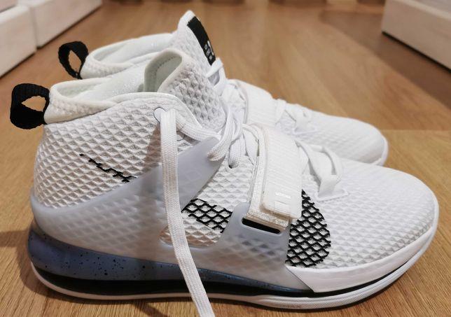 Ghete baschet Nike Air Force Max 2 White/Black, 41 noi