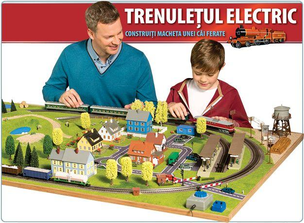 Macheta Trenuletul Electric