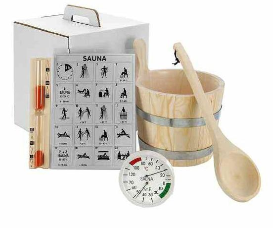 Set accesorii sauna ELIGA