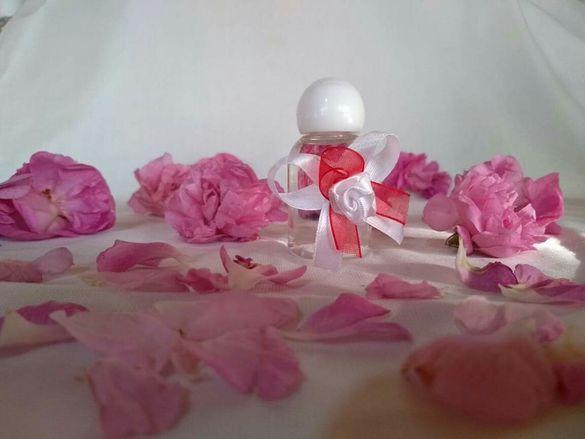 Подаръчета за сватба/кръщене- био розова вода