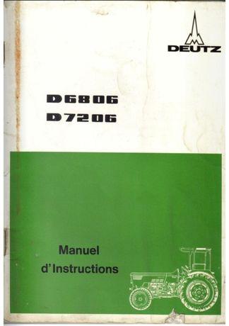 Manual de intretinere Tractor Deutz 7206 (6806)