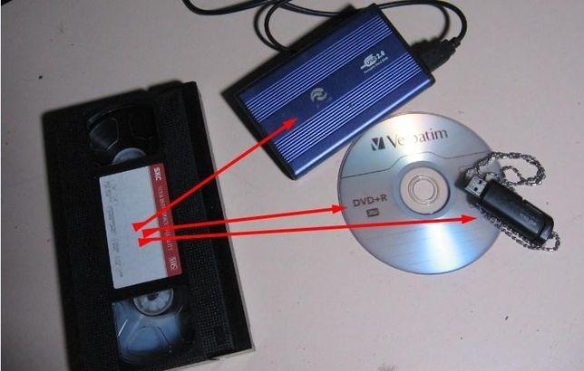 Услуги мастера пишу запись из кассеты на диск