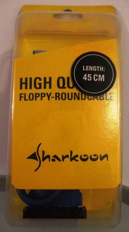 cablu floppy Sharkoon, 45 cm, nou, sigilat (20 buc.)