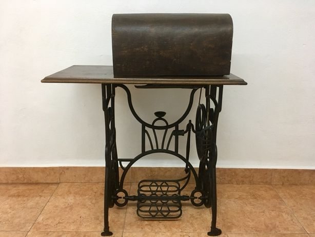 Masina de cusut Bobbin Moravia din 1870