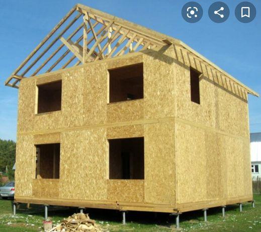 Vând case din lemn masiv