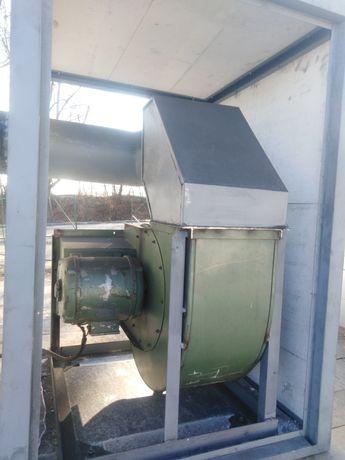 Вентилатор 1kW, Турбинен