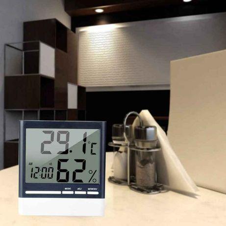 Термометр - Гигрометр с часами и календарём