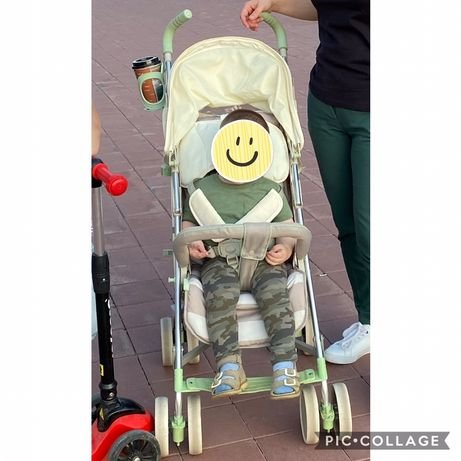Прогулочная коляска от Happy baby
