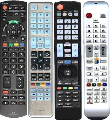 Пульты для Sumsung, Lg,Sony,Philips Smart,Yasin,Toshiba,Vestel,Haier,