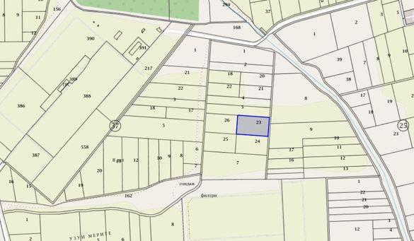Продавам земеделски парцел в землището на с. Игнатиево