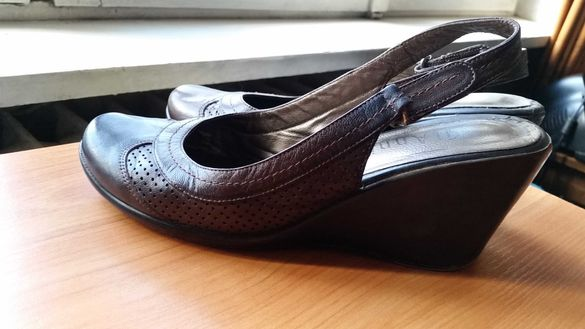 Дамски сандали - ест. кожа, номер 39