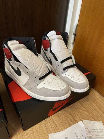 Jordan 1 High Smokey Gray 44 / 44 2/3