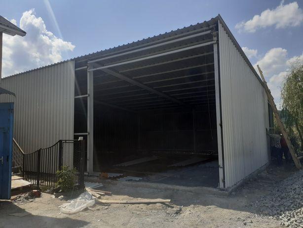Facem constructii pentru salon / service auto / garaj / sala eveniment
