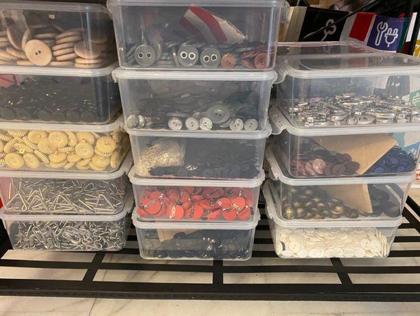 Accesorii Croitorie, ate, capse , nasturi, catarame, fermoare bulk