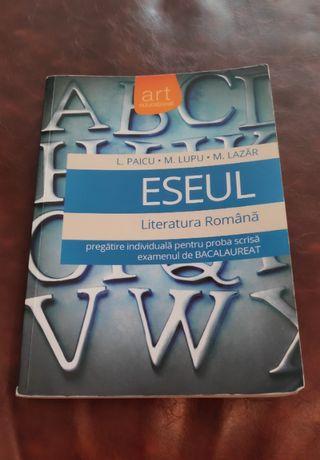 ESEUL- carte pentru pregatire examen BAC