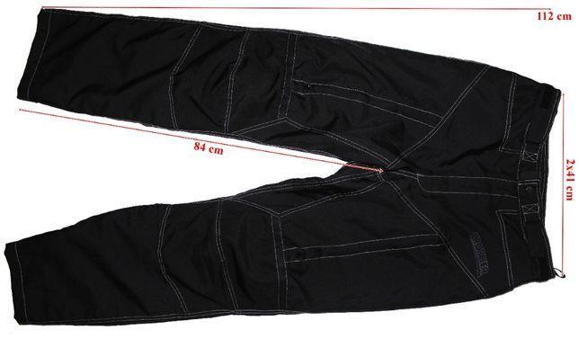 Pantaloni moto Probiker protectii genunchi ventilatii barbati marimeaL