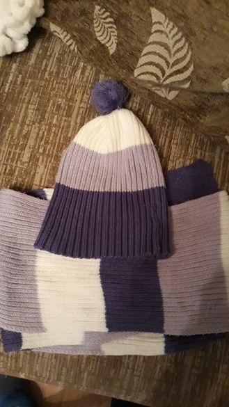 шапки и шалове комплекти