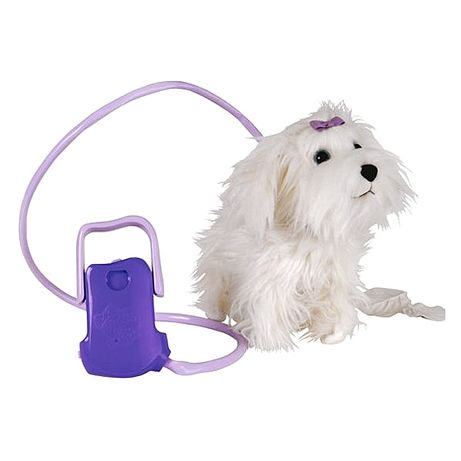 Ходещо на каишка кученце Флъфи fluffy go walkies