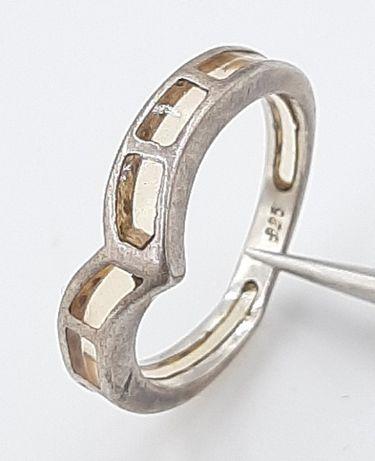 Frumos inel vintage din argint 925 ,manufacturat !