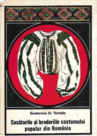 Cusaturile si broderiile costumului popular romanesc de E. Tomida