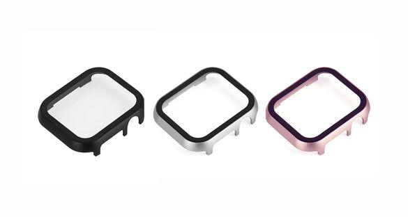360 кейс за Apple Watch 3, 4, 5, 6, SE със стъклен протектор
