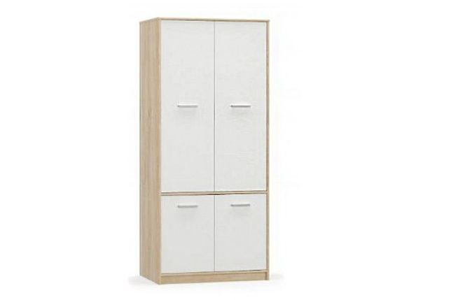 Шкаф для одежды 4Д  (4Д) Типс, Белый, MEBEL SERVICE (Украина)