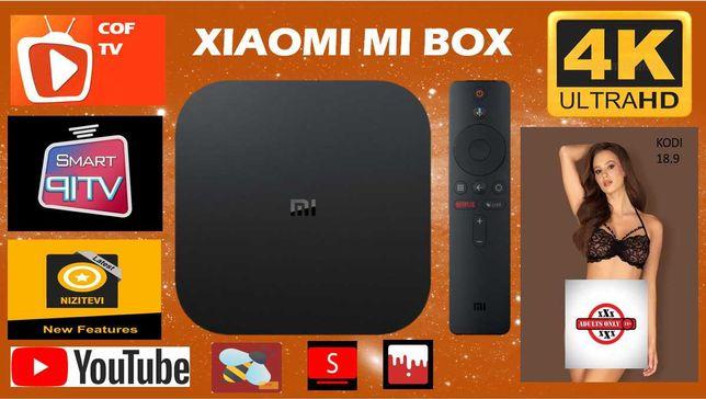 Xiaomi Mibox Mi box S 2021 ROMANIA TV Sigilat CONFIGURAT Android TOP