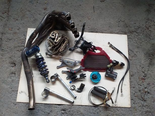 Yamaha R6 03-05 accesorii / Racing / commander /scarite / galerie /
