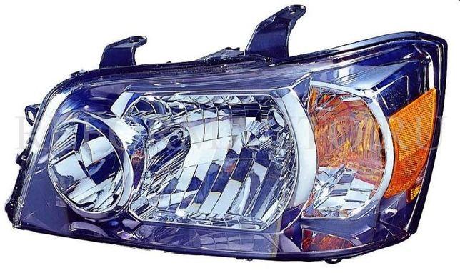 Фара/бампер/телевизор на Тойота Хайландер 04-07/Toyota Highlander 04-