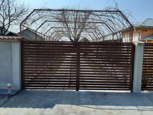 Porți din fier forjat