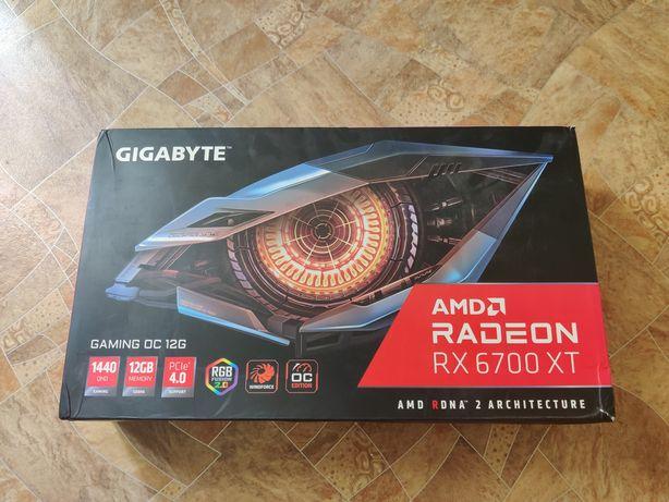 Видеокарта Gigabyte 6700XT Gaming OC 12gb