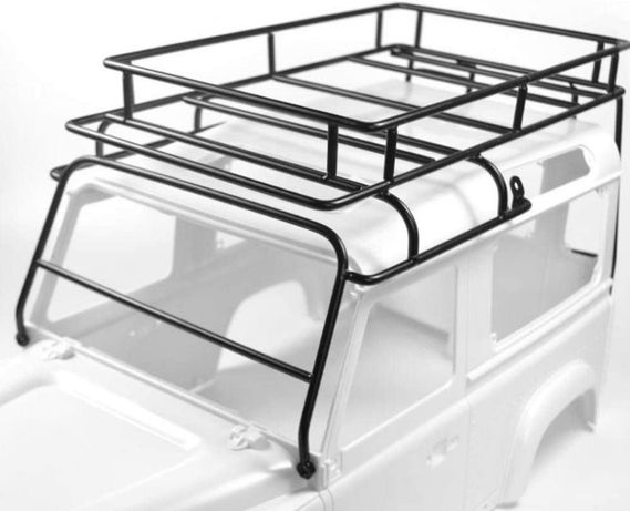 Roof rack miniatura RC CRAWLER Land Rover Defender D90