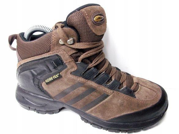 Adidas Gore-tex Детски Маратонки Спортни Трекинг Високи Велур Кожа 35