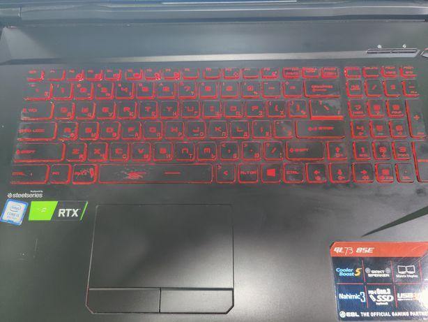 Ноутбук игровой Msi gl73 8se