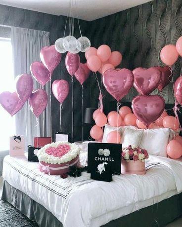 Baloane cu heliu, petreceri aniversare, majorat, zile de nastere