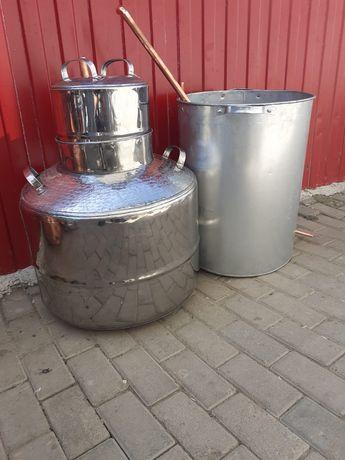 Cazan de tuica din inox la 100 de litri
