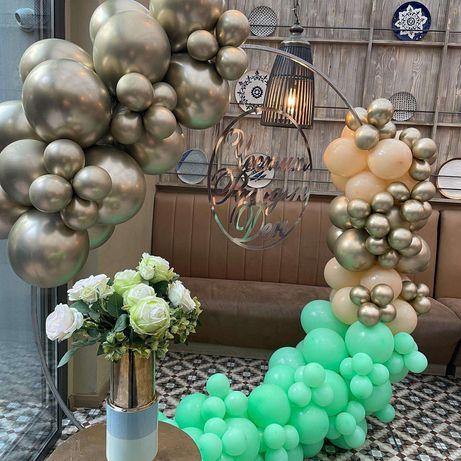 Украса от балони за вашият специален ден