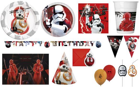 Парти Артикули Сет за Рожден Ден Star wars ,Украса Междузвездни войни