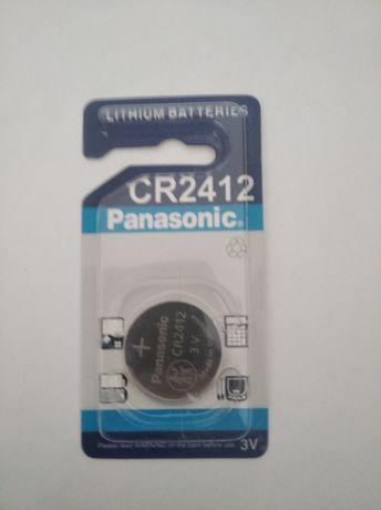 Батарейка CR2412 Panasonic для Автобрилков