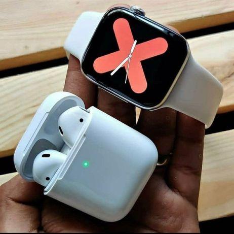 Беспроводные Наушники AirPods 2 EAC PopUp, Touch sensor iphone айфон