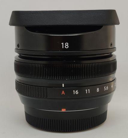 Fujinon XF 18mm F2 R Fuji Fujifilm