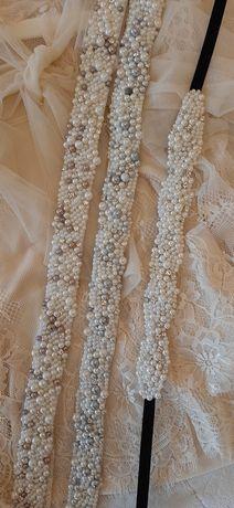 Brau  cu perle   handmade