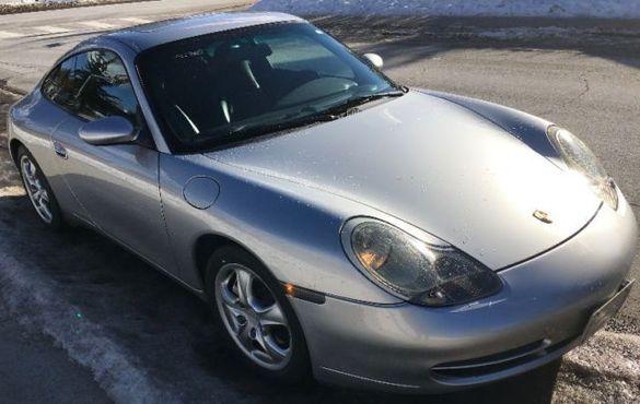2000 Porsche 911 Carrera части