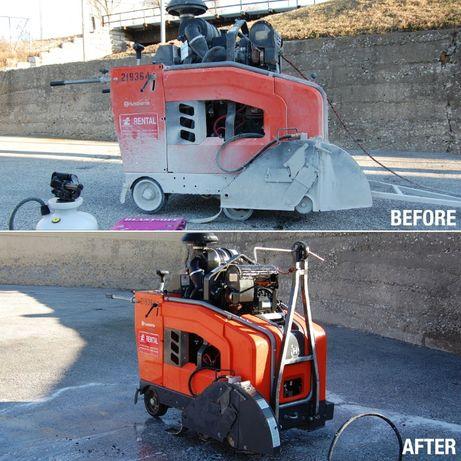 Vindem solutie curatat ciment de pe suprafete.Acid curatat beton.24kg